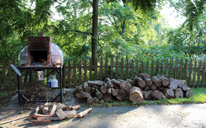 Pedro Maiz's Pizza Oven Backyard