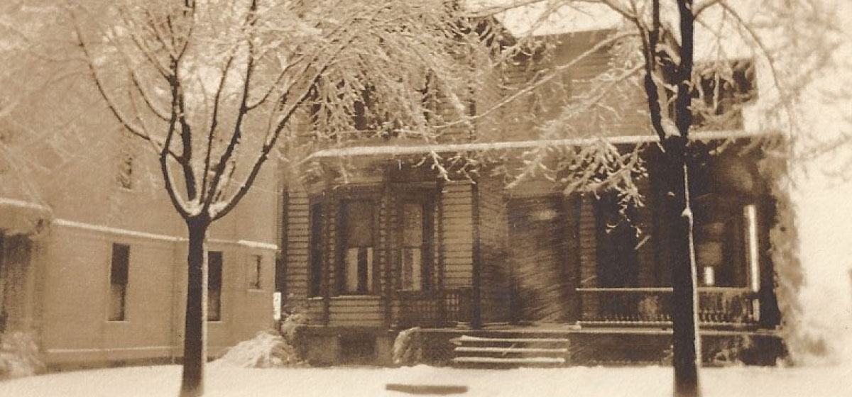 Grandmother Rebecca Potts' house on N. Maple Avenue in Greensburg
