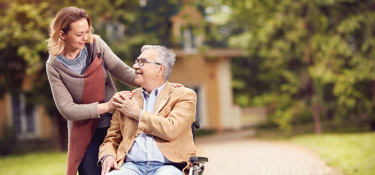 Caring for an aging loved one can take an emotional and physical toll.