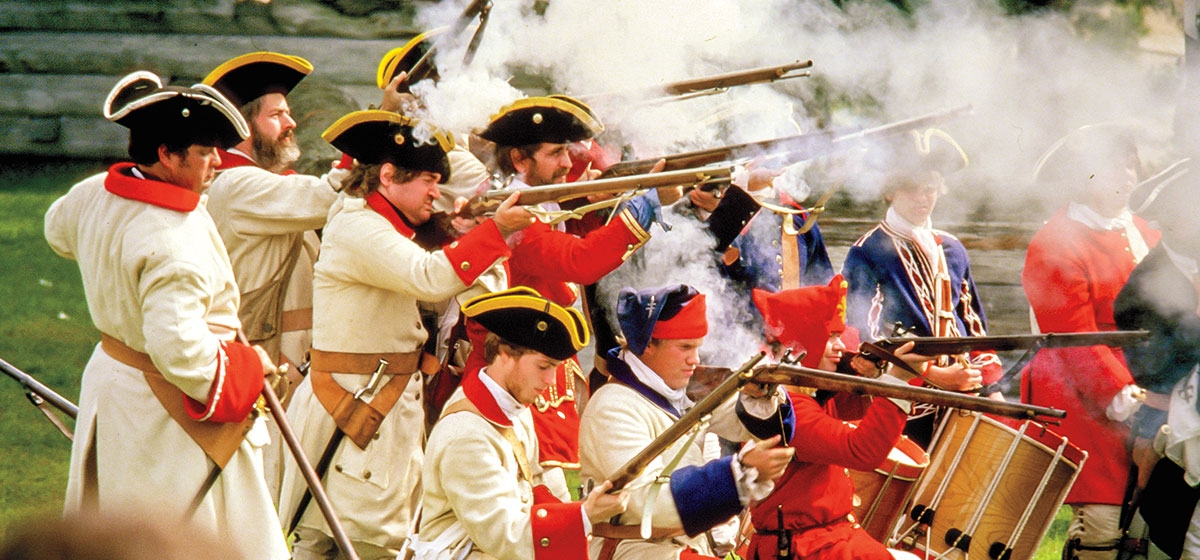 The 2019 battle reenactments will be held at Fort Ligonier on October 12 and 13.