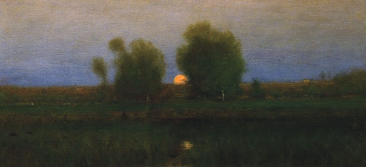 "Scaife's collection of 500 paintings was recently divided between two Pennsylvania museums who chose works alternately over several days. Brandywine River Museum went first, and the Westmoreland Museum of American Art followed, choosing George Inness's ""Moonrise, Alexandria Bay, 1891."""
