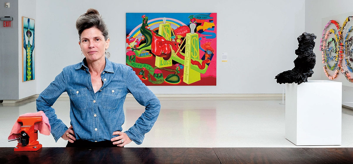 Ingrid Schaffner shakes up the International; for the first time there will be more women artists than men.