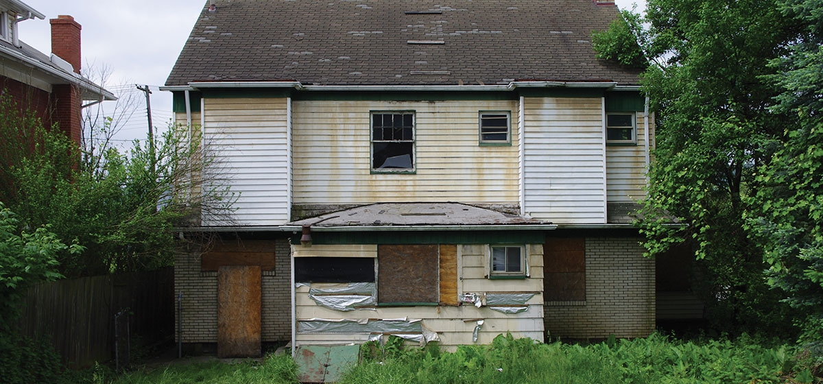 Photographs By Matt Stroud Vacant Properties Like These Consume $20 Million  In City Services A Year. $8 Million Alone