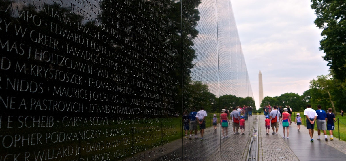 Vietnam Veterans Memorial in Washington, D.C.