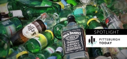 Broken Glass: Recycling Bottles Becomes a Challenge