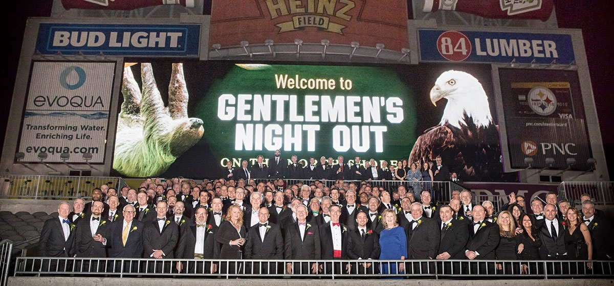 Gentlemen's Night Out, Heinz Field Champions Club. Feb. 17, 2017.
