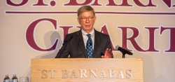 Political commentator and author, George F. Will, was the guest speaker. St. Barnabas Charities Founder's Day Celebration Gala. April 25, 2019.