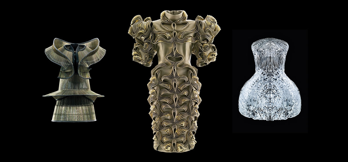Showcasing a stunning range of materials and techniques, this new CMOA exhibition presents an array of bewitching garments and shoes by Dutch fashion designer Iris van Herpen.