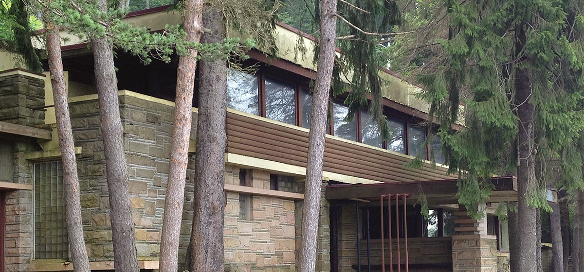 Lynn Hall, home of Fallingwater's contractor, Walter J. Hall.