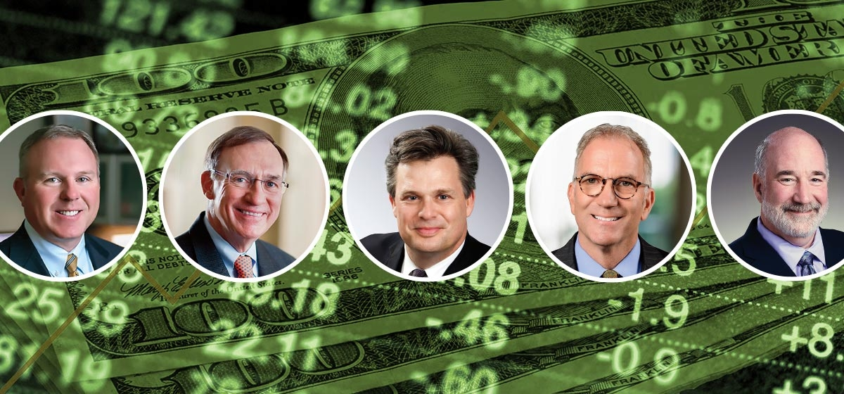 Win Smathers, Shorebridge Wealth Management. Robert Y. Kopf Jr., Smithfield Trust Company. Thomas E. Crowley, KeyBank. Gregory J. Sorce, HBKS Wealth Advisors. Jack Kraus, Allegheny Financial.
