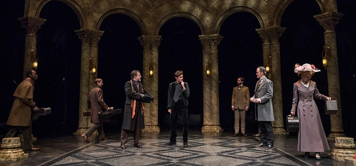 "A scene from Pittsburgh Public Theater's production of ""Hamlet."""