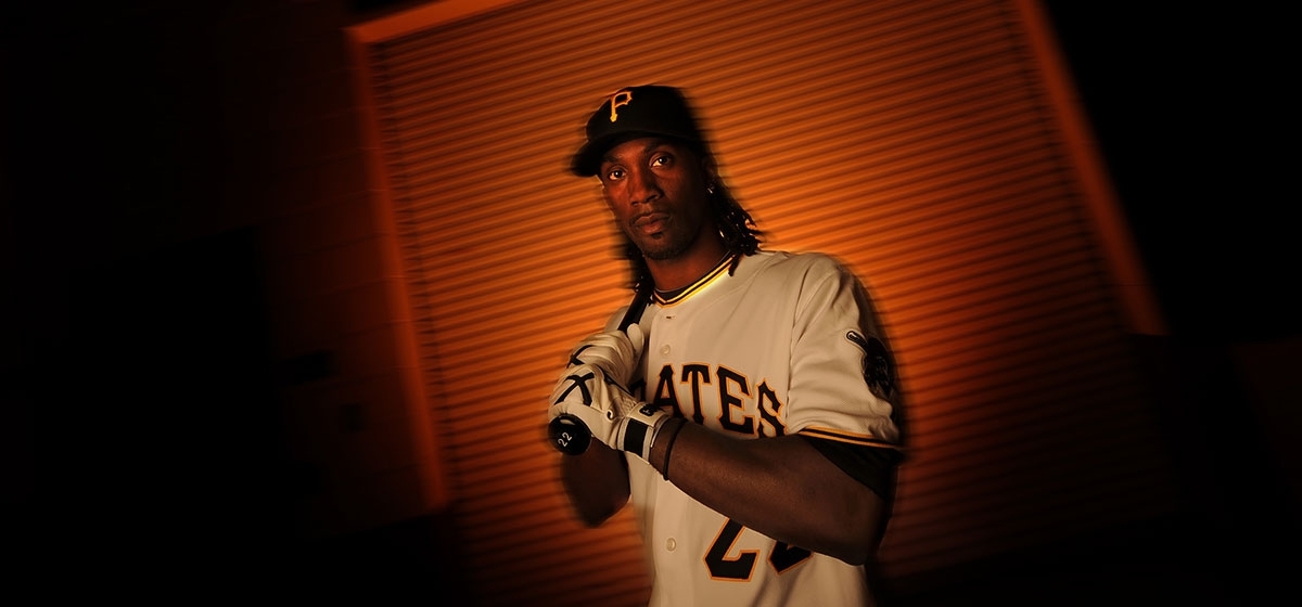 Eye on the ball: Centerfielder McCutchen