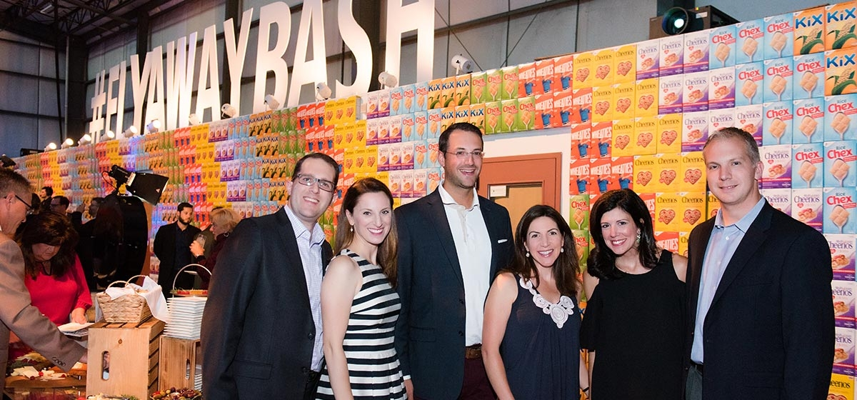Evan and Jessica Durst, Derek and Rebecca Mousseau, and Elissa and Matt Tunno. Fly Away Bash, Greater Pittsburgh Food Bank. September 8, 2017.