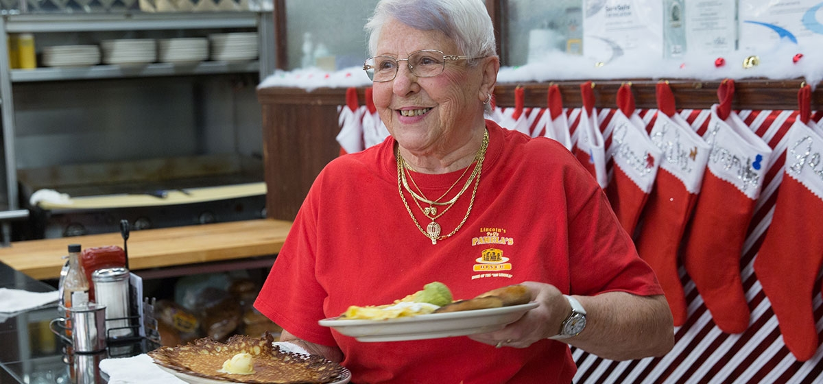 Flo's Wisdom—on the Eve of 50 Years as a Waitress at Pamela's