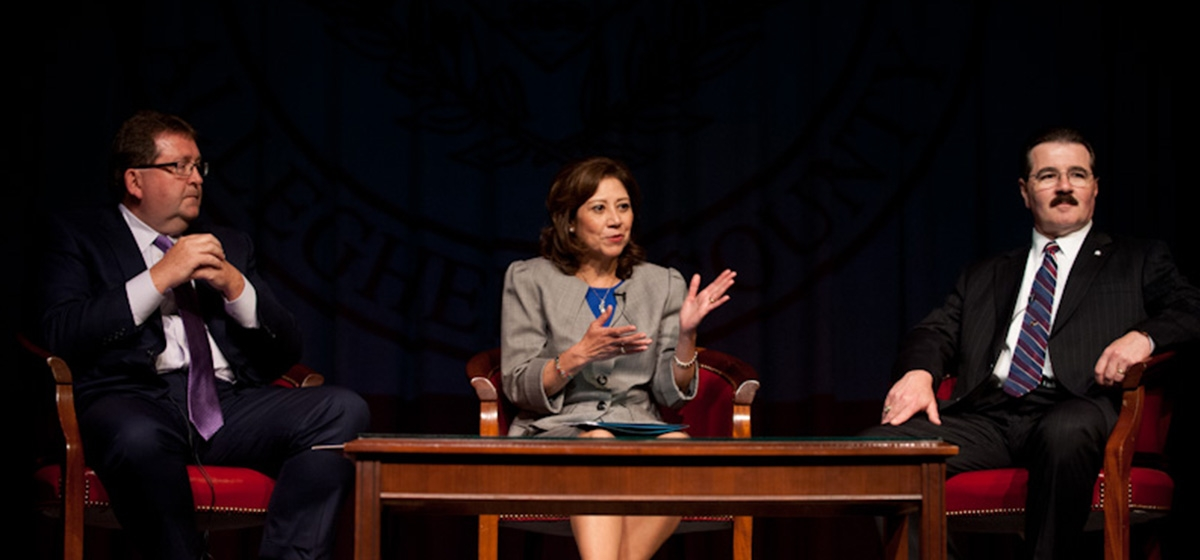 People's Natural Gas CEO Morgan O'Brien, U.S. Secretary of Labor Hilda Solis, and IBEW Business Manager Mike Dunleavy discuss profound changes in regional jobs and workforce readiness.