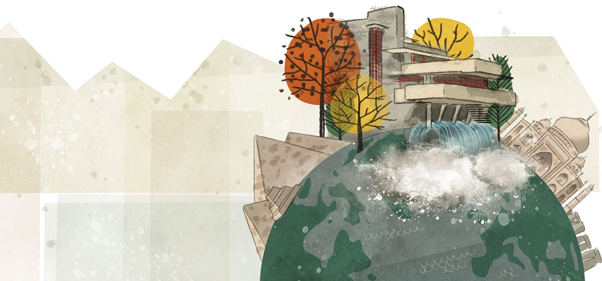 On a Pedestal: Fallingwater, Allegheny Conference, Natural Areas Association, Healthcare Truce