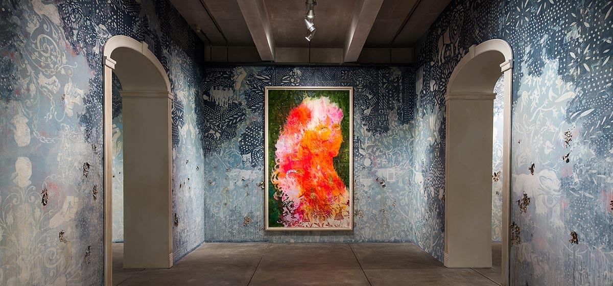 Firelei Baez: Bloodlines Installation, The Andy Warhol Museum, photo Abby Warhola