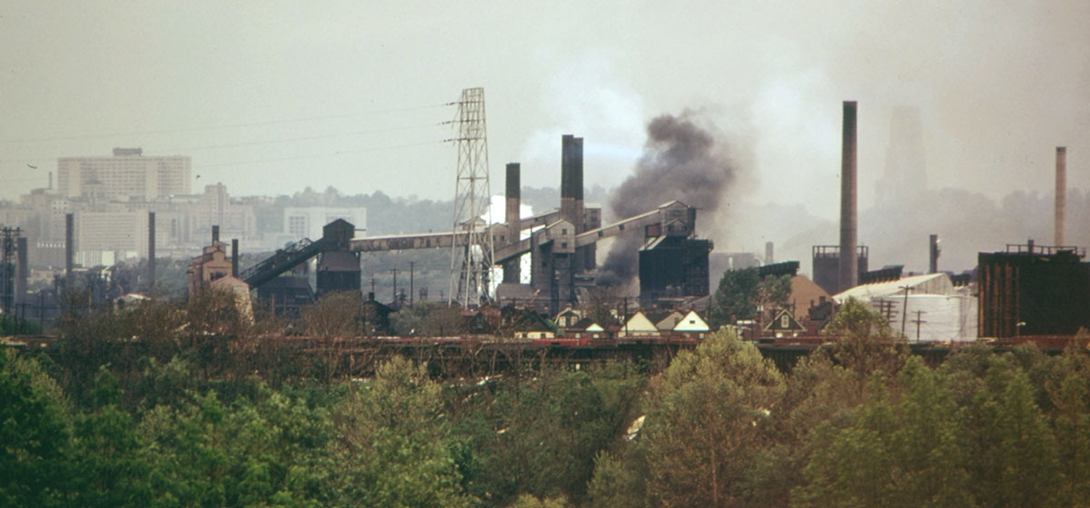 J&L Steel Corporation coke plant, Hazelwood, Pennsylvania