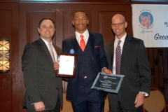 Don-Micheal-Volunteer-of-the-year-Tyhir-Royster-and-Special-agent-in-Charge-Timmothy-Burke-