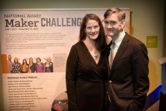Maris-Bondi-Senior-Director-Marketing-Administration-and-Community-Outreach-at-UPMC-Health-Plan-National-Aviary-Board-Member-with-Robert-Dauer