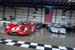 Ford-GT40-Fran-Kress-and-1969-John-Wyer-Gulf-Mirage-M2-Saratoga-Auto-Auction-by-Marsha-Green