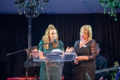 Ashley-Dougherty-and-Cris-Winter-Saturday-Night-Emcees