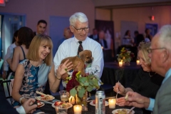 Friday-night-guests-enjoying-the-company-of-an-adoptable-puppy